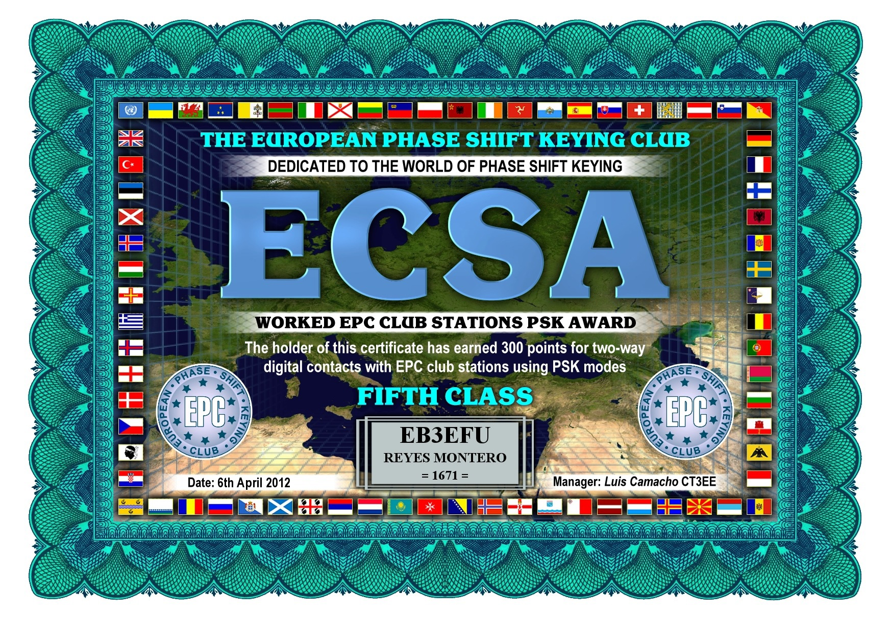 EB3EFU-ECSA-FIFTH