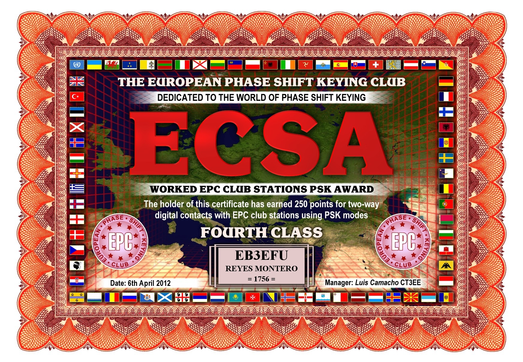 EB3EFU-ECSA-FOURTH