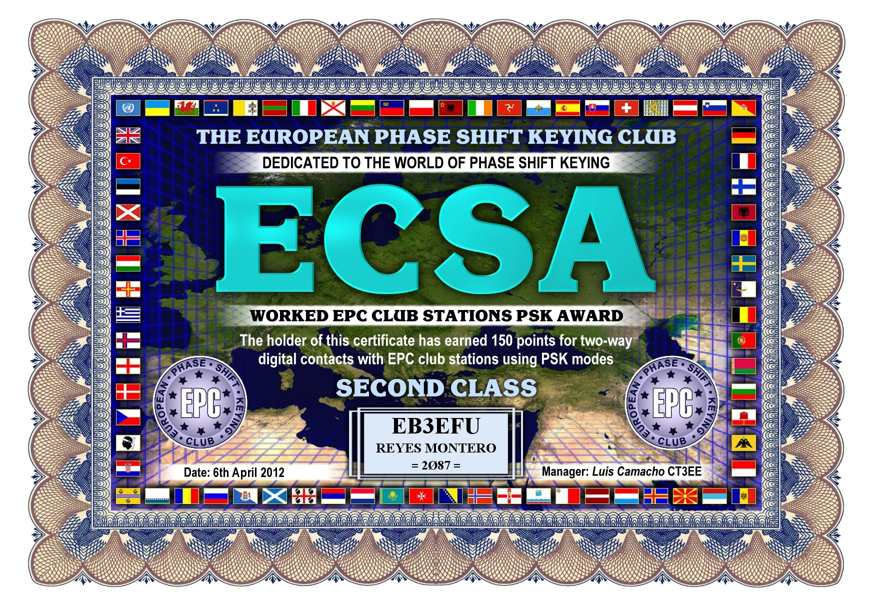 EB3EFU-ECSA-SECOND